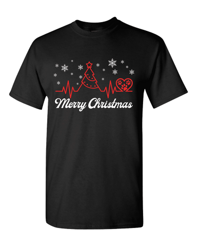 Merry Christmas (Dog Theme) Unisex T-Shirt