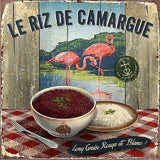Vintage Camargue Rice Poster - Diamond Art Kit