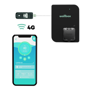Wallbox Connectivity - Huawei 4G/LTE Dongle - Wit
