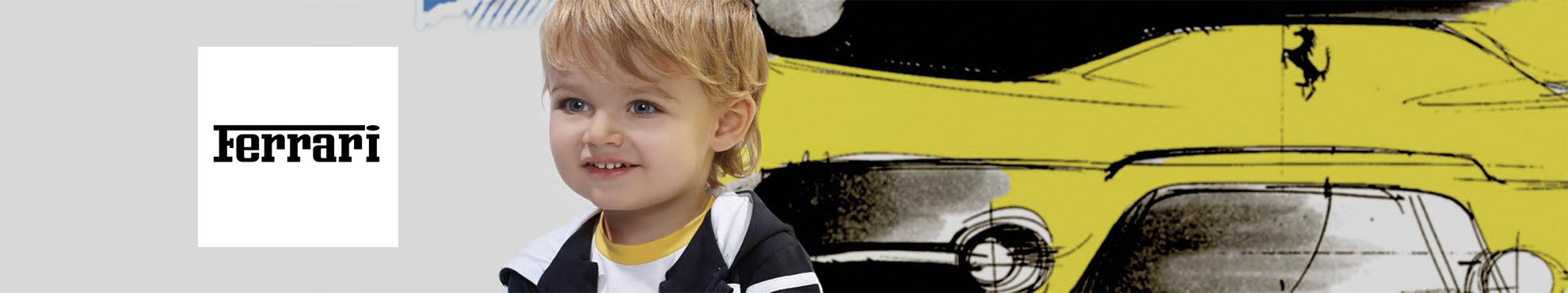 Ferrari - designer children's clothing online store, boutique and outlet, clothes fro boys & girls