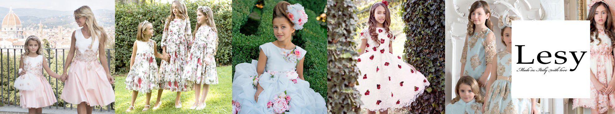 Lesy Dresses Made in Italy - Designer children's clothes online boutique and outlet