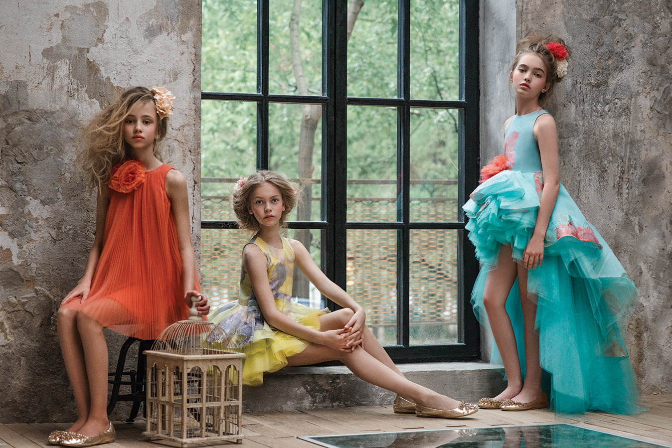 MISCHKA AOKI - Spring-Summer 2016 collection - Luxury Royal Girls Dresses