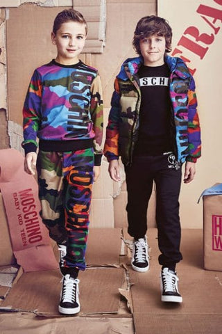 Camouflage wear from MOSCHINO Fall-Winter 2017-2018 collection