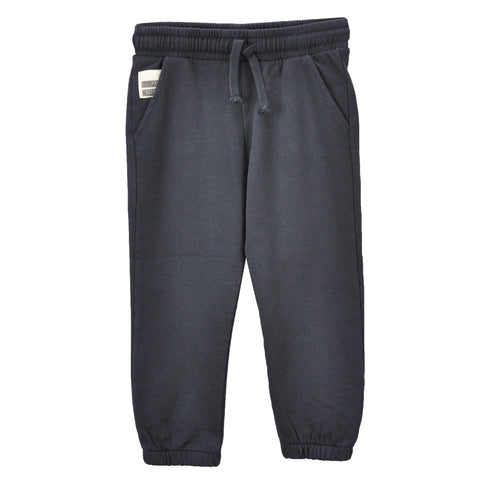 Boys Grey Fleece Joggers