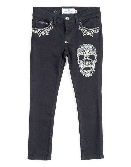Philipp Plein - Black Jeans Skinny Girly Adriana - Kids clothing at BOYS & GIRLS ONLINE