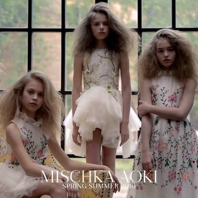 MISCHKA AOKI-Dress Summer Love-boysgirlsonline.com