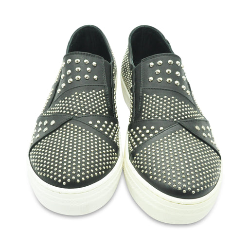 AM66 Leather Sneakers with Studs - Kids clothes online | BOYS & GIRLS ONLINE