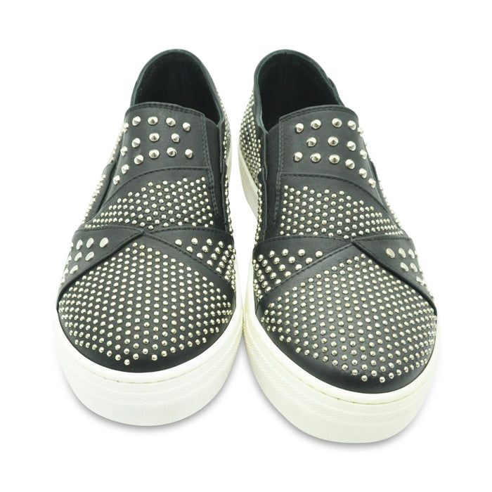 AM66 - Leather Sneakers with Studs - Kids clothing at BOYS & GIRLS ONLINE