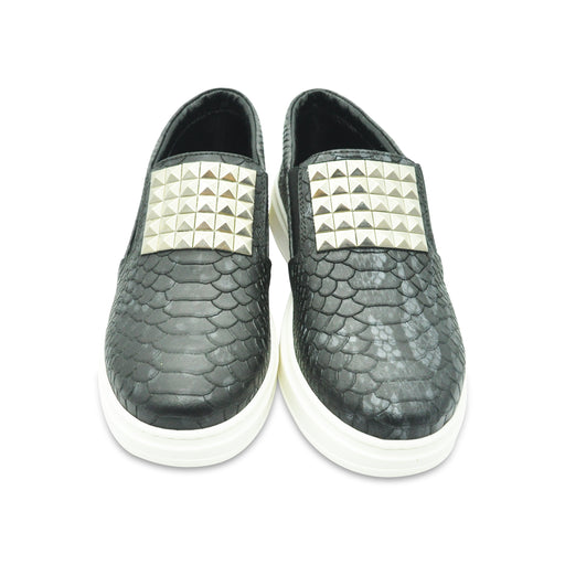 AM66 - Sneakers Silver Plate - Sneakers Girl at BOYS & GIRLS ONLINE