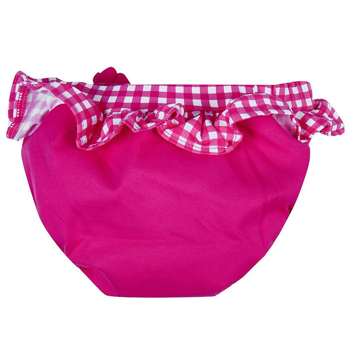 Archimède Baby Girl Fuchsia Bloomer Double Protection with Flower-BOYS & GIRLS ONLINE