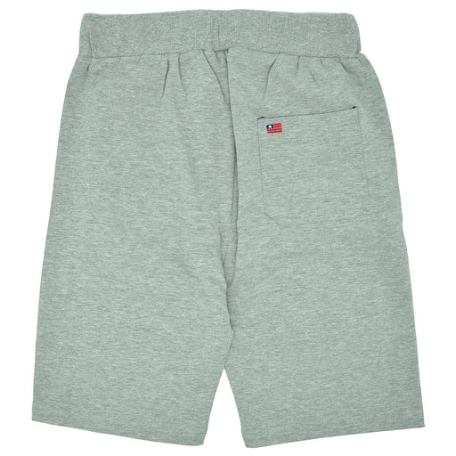 Aspen Polo Club Boys Grey Fleece Sporty Shorts-BOYS & GIRLS ONLINE