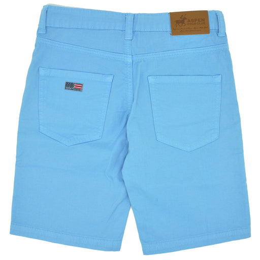 Aspen Polo Club Boys Turquoise Cotton Bermuda Shorts-BOYS & GIRLS ONLINE