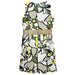 Byblos Girls Beige Sleeveless Dress with Floral Print-BOYS & GIRLS ONLINE