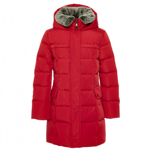 Red Insulated Windproof Coat Cassidy