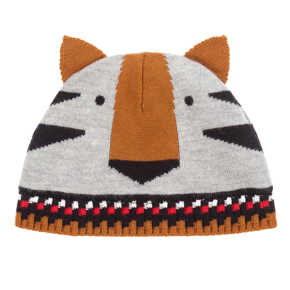 Baby Boy Graphic Jacquard Knit Hat