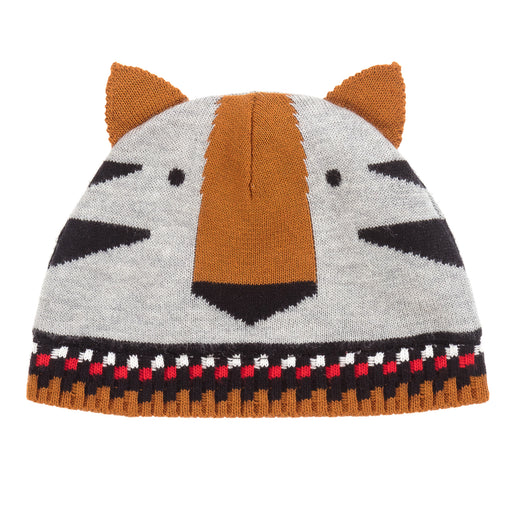 Catimini Baby Boy Graphic Jacquard Knit Hat at BOYS & GIRLS ONLINE