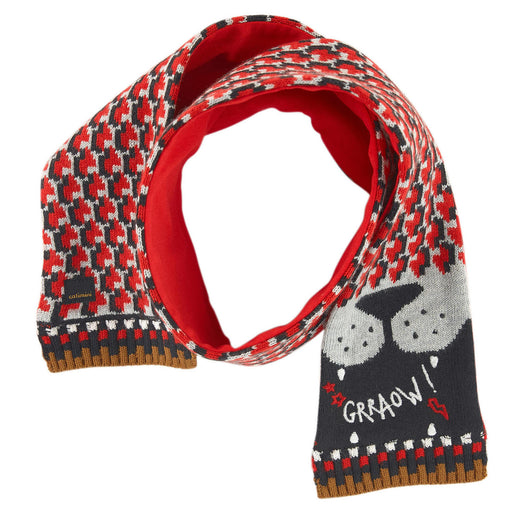 Catimini Baby Boy Graphic Jacquard Knit Scarf at BOYS & GIRLS ONLINE