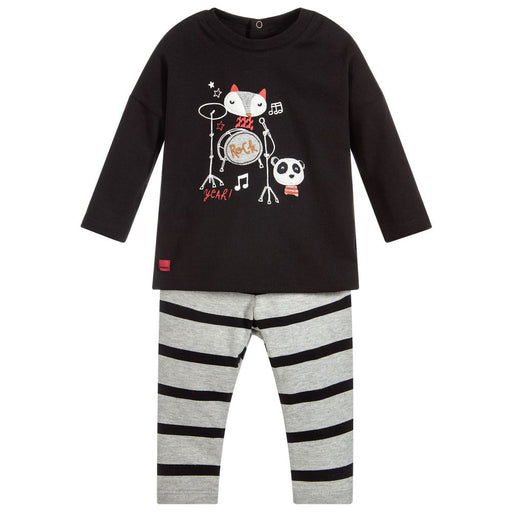 Catimini - Baby Boys Cotton Trouser Set - Kids clothing at BOYS & GIRLS ONLINE