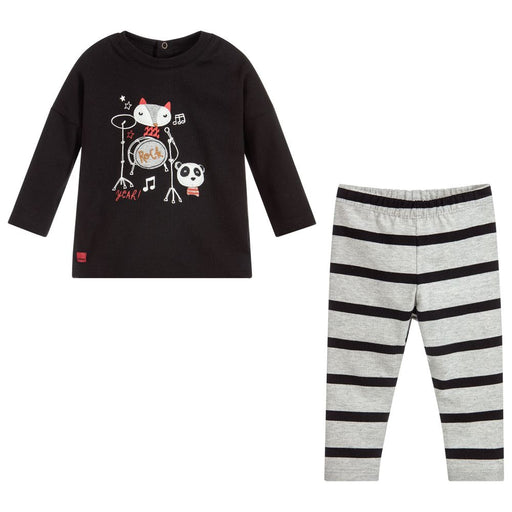 Baby Boys Cotton Trouser Set