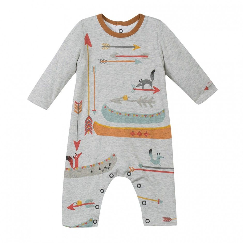 Catimini Babysuit AIO Arrows Canoes at BOYS & GIRLS ONLINE