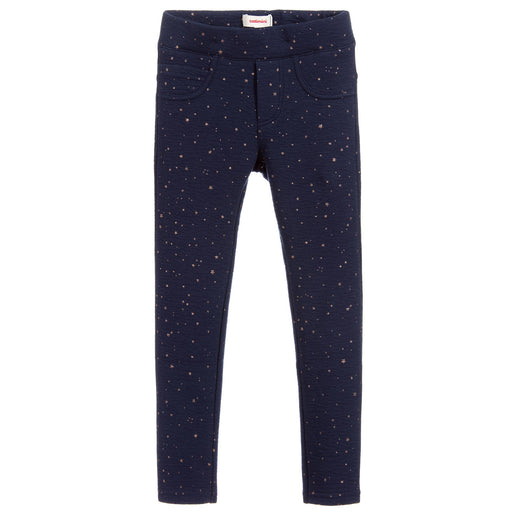 Catimini Blue Stretch Skinny Jeggings at BOYS & GIRLS ONLINE