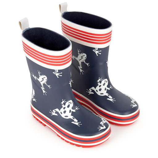 Catimini Frog Printed Rain Boots - Kids clothes online | BOYS & GIRLS ONLINE