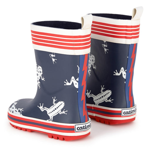 Catimini Frog Printed Rain Boots at BOYS & GIRLS ONLINE
