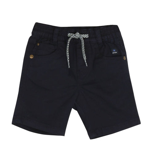 Catimini - Navy Coloured Gabardine Bermuda - Shorts Baby Boy at BOYS & GIRLS ONLINE