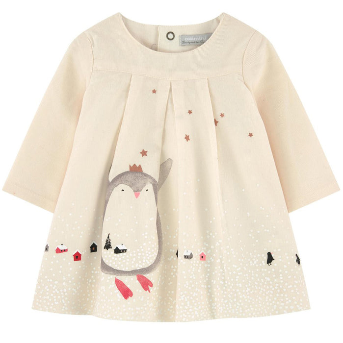 Catimini - Penguin Corduroy Dress - Kids clothing at BOYS & GIRLS ONLINE
