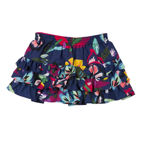 Catimini - Tropical Print Voile Skirt - Skirts Girl at BOYS & GIRLS ONLINE
