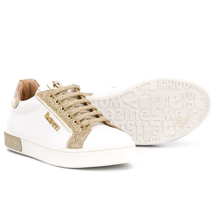 Cesare Paciotti - Girls Glitter Low Top Sneakers - Kids clothing at BOYS & GIRLS ONLINE