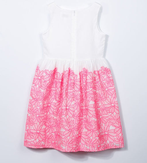 Charabia-Embroidered Sleeveless Dress PALOMA-boysgirlsonline.com