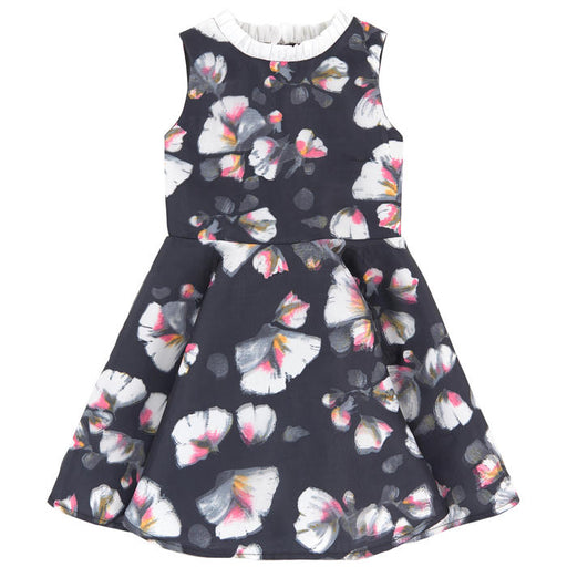Charabia - Printed 3D Effect Organza Dress - Kids clothing at BOYS & GIRLS ONLINE