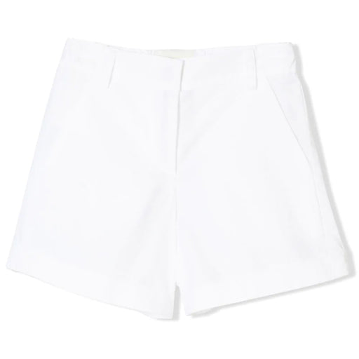 Fendi Girls White Poplin Shorts - Kids clothes online | BOYS & GIRLS ONLINE
