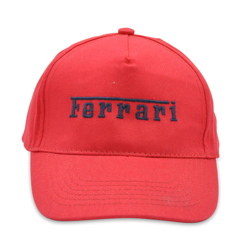 Ferrari Red Summer Cap with Logo FE8633 at BOYS & GIRLS ONLINE