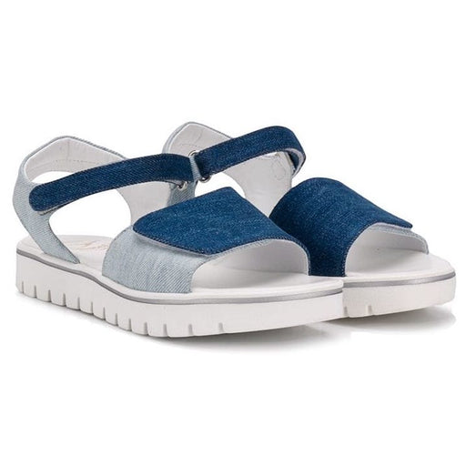 Gallucci Girls Denim Open Toe Sandals - Kids clothes online | BOYS & GIRLS ONLINE