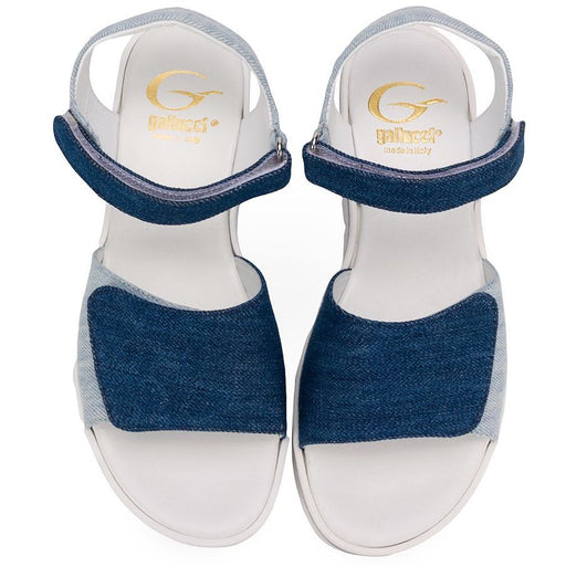Girls Denim Open Toe Sandals