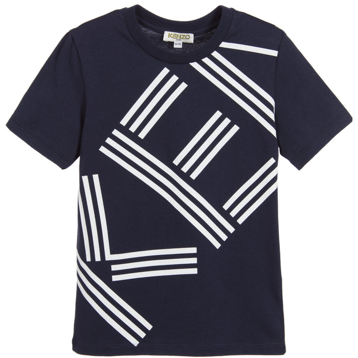 Boys Blue Logo T-Shirt
