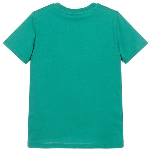 Boys Green TIGER T-Shirt