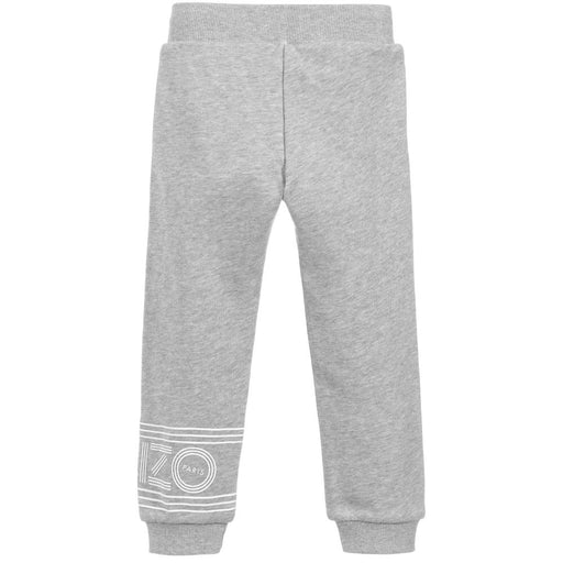 Kenzo - Boys Grey Cotton Joggers - Kids clothing at BOYS & GIRLS ONLINE