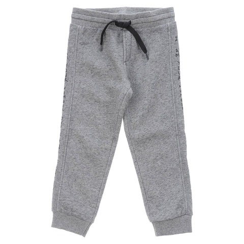 Boys Grey Couky Jogging Trousers