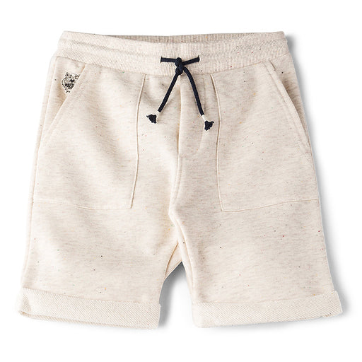 KENZO Boys Marled Sable Blop Bermuda Shorts at BOYS & GIRLS ONLINE