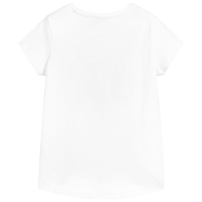 Kenzo - White Cotton Tiger T-Shirt - Kids clothing at BOYS & GIRLS ONLINE