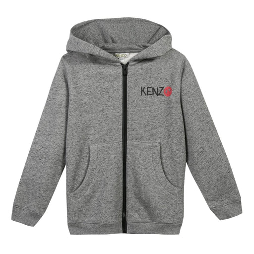 KENZO Zip Front Printed Capo Hoodie at BOYS & GIRLS ONLINE