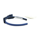 Blue Headband with Bow and Crystals by Lesy at BOYS & GIRLS ONLINE