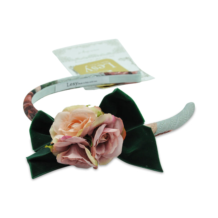 Lesy-Girls Floral Hairband-boysgirlsonline.com