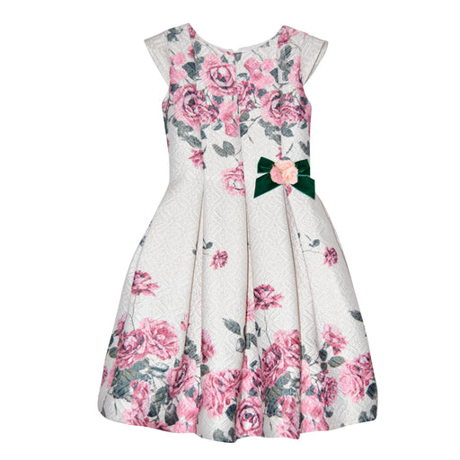 Lesy - Printed Mid-Sleeve Girl Dress - Kids clothing at BOYS & GIRLS ONLINE