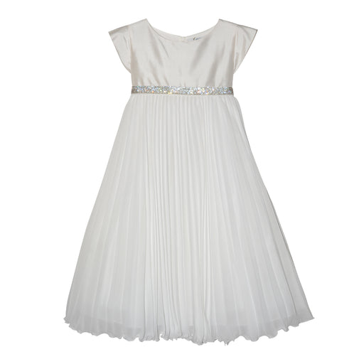 Lesy - Dress with Pleated Skirt in Chiffon - Kids clothing at BOYS & GIRLS ONLINE