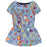 MOSCHINO Girls Blue Multicolor Printed Dress at BOYS & GIRLS ONLINE