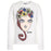 Moschino - Girls Ivory Long-Sleeve Top - Kids clothing at BOYS & GIRLS ONLINE